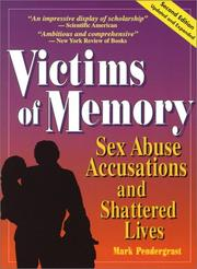 Cover of: Victims of memory | Mark Pendergrast
