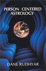 Cover of: Person Centered Astrology by Dane Rudhyar