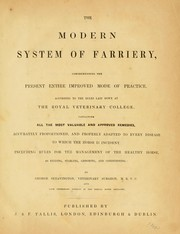 Cover of: The modern system of farriery | George Skeavington