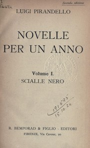Cover of: Novelle per un anno by Luigi Pirandello