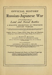 Cover of: Official history of the Russian-Japanese war | J. Martin Miller