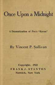 Cover of: Once upon a midnight by Vincent Philamon Sullivan