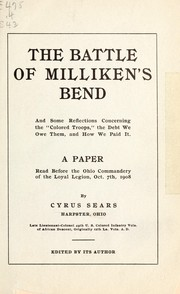 Cover of: Paper of Cyrus Sears | Cyrus Sears