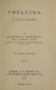 Cover of: Phyllida. A life drama | Florence Marryat