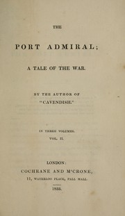 Cover of: The port admiral | William Johnson Neale