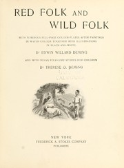 Cover of: Red folk and wild folk | Deming, Therese (Osterheld)