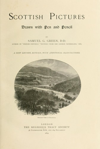 Scottish pictures by Samuel G. Green