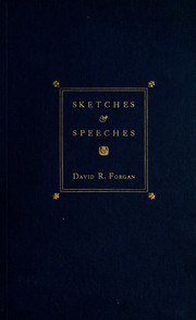 Cover of: Sketches & speeches | David Robertson Forgan