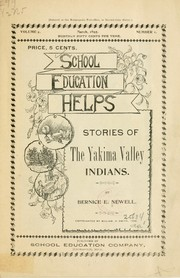 Cover of: ...Stories of the Yakima Valley Indians | Bernice E. Newell