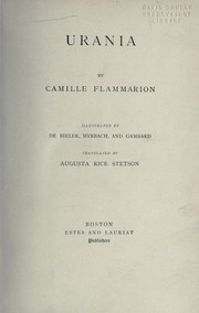 Cover of: Urania | Camille Flammarion