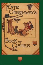 Cover of: Book of games | Kate Greenaway