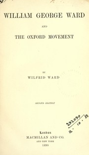 Cover of: William George Ward | Wilfrid Philip Ward