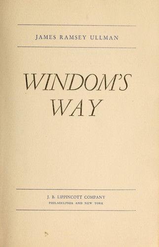 Windom's way by James Ramsey Ullman
