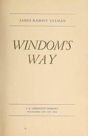 Cover of: Windom's way by James Ramsey Ullman