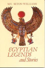 Cover of: Egyptian Legends and Stories | Seton-Williams, M. V.