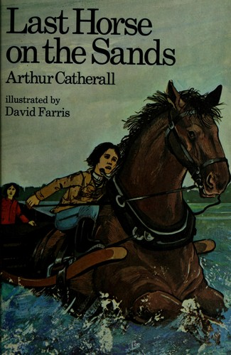 Last horse on the sands by Arthur Catherall