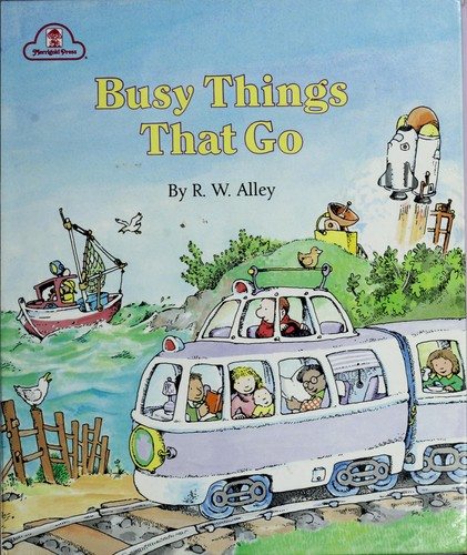 Busy Things That Go Busy Book (Golden Busy Book) by Golden Books