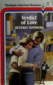 Cover of: Verdict of love by Beverly Sommers
