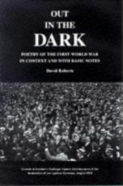 Cover of: Out in the Dark by David Roberts