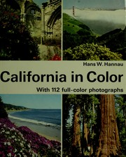 Cover of: California in color | Hans W. Hannau