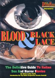 Cover of: Blood and Black Lace by Adrian Luther Smith