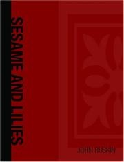 Cover of: Sesame and lilies by John Ruskin
