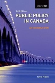 Cover of: Public policy in Canada by Lydia A. Miljan