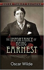 Cover of: The Importance of Being Earnest | Oscar Wilde