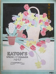 Eatons' spring and summer catalogue