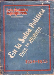 Cover of: En la selva política by Luis Antonio Eguiguren