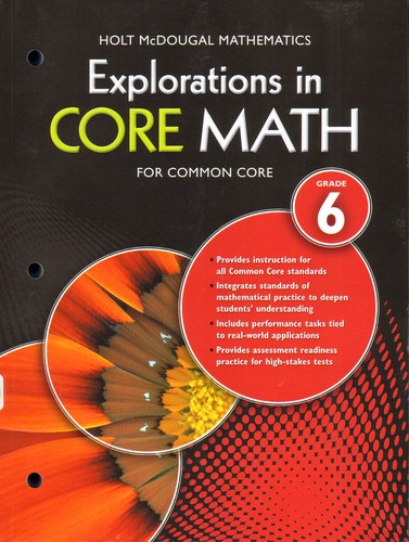 Explorations in Core Math for Common Core   Open Library