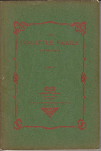 The Doolittle family in America by Doolittle, William Frederick