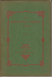 Cover of: The Doolittle family in America | Doolittle, William Frederick