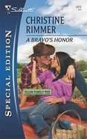 Cover of: A Bravo's Honor by Christine Rimmer