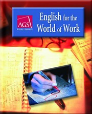 Cover of: English for the World of Work | Carolyn W. Knox