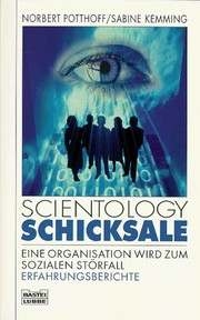 Cover of: Scientology Schicksale by Norbert Potthoff