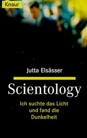 Cover of: Scientology | Jutta Elsässer