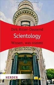 Cover of: Scientology by Dirk Ritter-Dausend