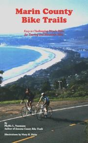 Cover of: Marin County Bike Trails | Phyllis L. Neumann