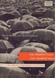 Cover of: One Hundred Years One Hundred Voices | Meena Menon, Neera Adarkar
