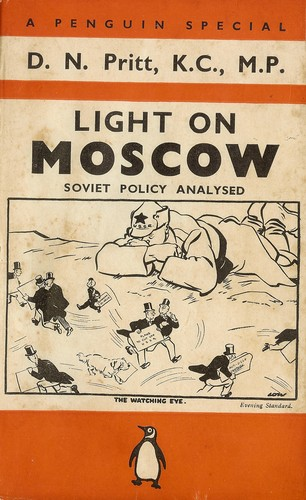 Light on Moscow by D. N. Pritt
