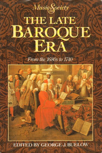 The late baroque era open library for What is the baroque period