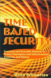 Cover of: Time Based Security | Winn Schwartau