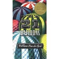Twenty-One Balloons (Newbery Award & Honor Books by William Pène Du Bois