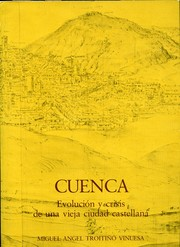 Cover of: Cuenca by Miguel Angel Troitiño Vinuesa