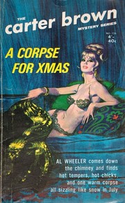 Cover of: A Corpse for Christmas by Carter Brown