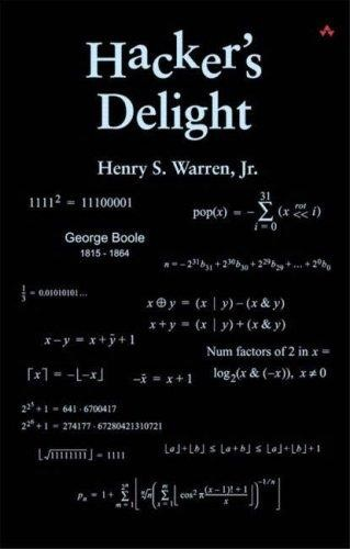 Hacker's delight by Henry S. Warren Jr.