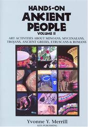 Cover of: Hands-On Ancient People, Volume 2 by Yvonne Y. Merrill