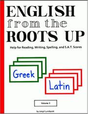 Cover of: English from the Roots Up, Vol. 1 | Joegil K. Lundquist