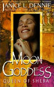 Cover of: Moon Goddess | Janice L. Dennie